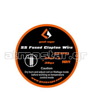 GeekVape SS Fused Clapton Wire 28