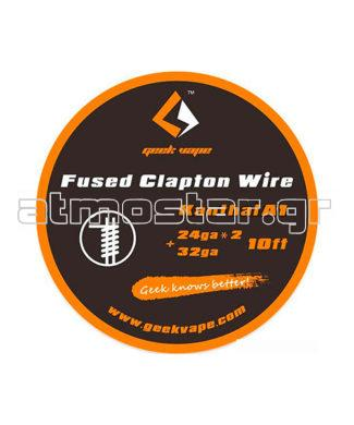 GeekVape Kanthal A1 Fused Clapton Wire 24GAx2+32GA 3m1
