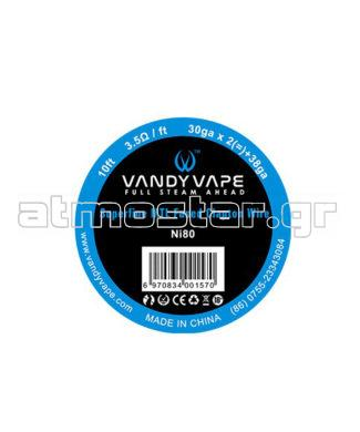 Vandy Vape Ni80 Superfine MTL Fused Clapton