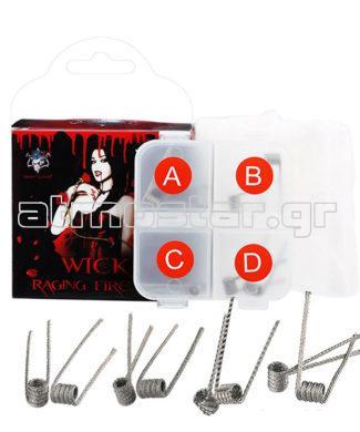 Demon Killer Wick & Raging Fire Coil Ni80